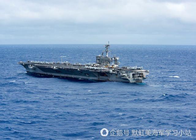 """美国航母再闯南海 自称""""已来过16趟了"""""""