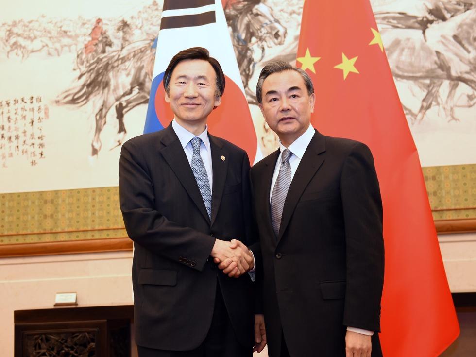 中韩外长会谈 再因萨德争执不欢而散