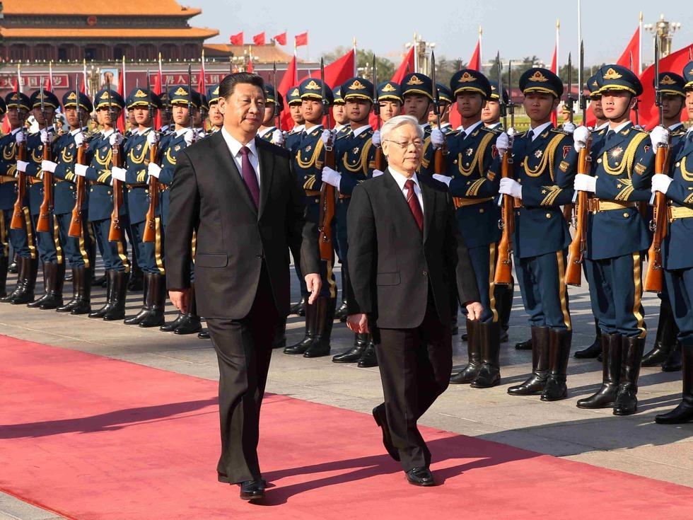 越南牵头东盟改善对华关系 缓和南海局势