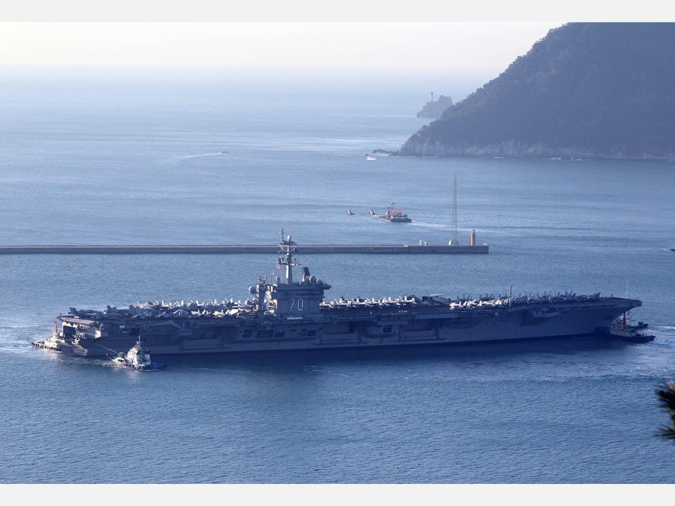 美军航母重返南海 中美沟通成讨价还价