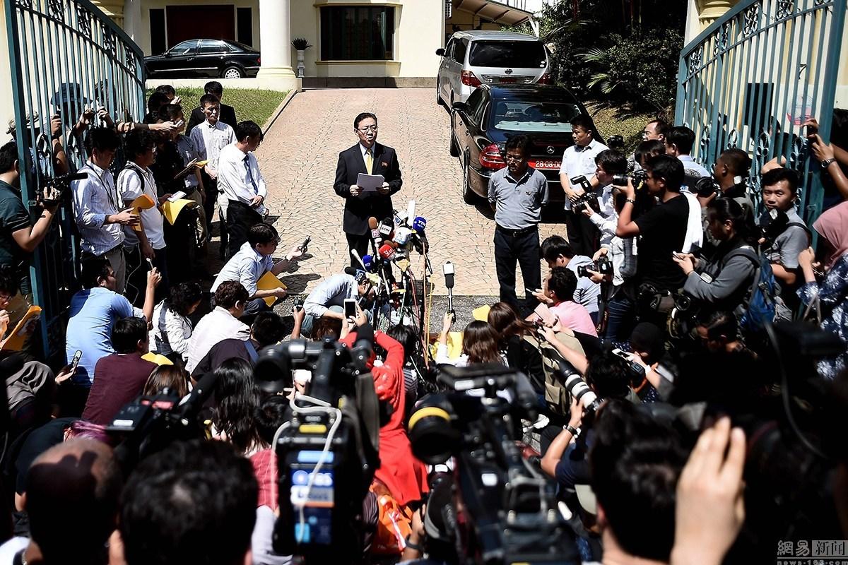 金正男长子疑赴大马认尸 朝鲜要联合调查