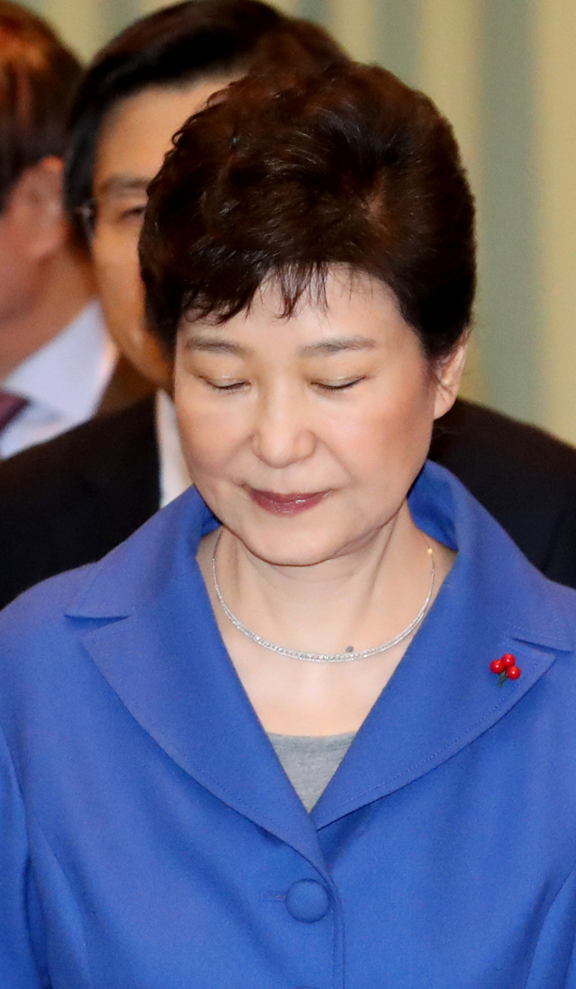 朴槿惠弹劾案 韩国法院下月中判决