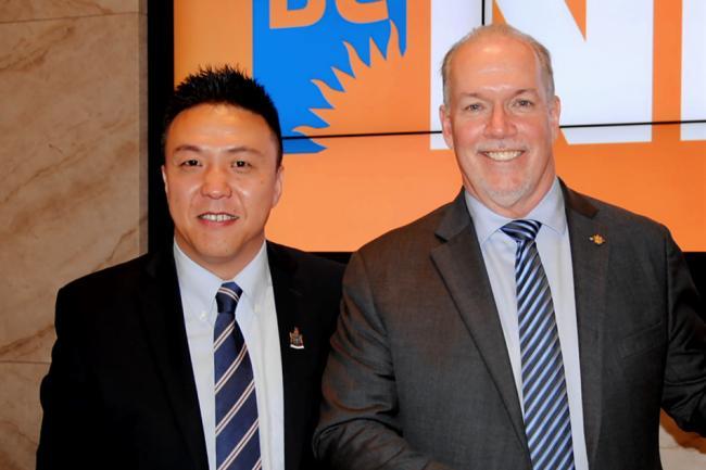 NDP又一重磅大陆华裔省议员候选人