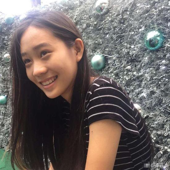 李连杰女儿为公益发声 素颜出镜颜值高