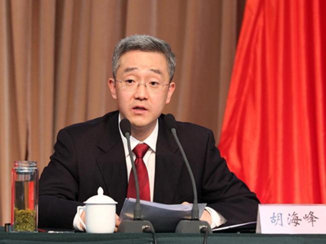 胡锦涛之子胡海峰连任嘉兴副书记