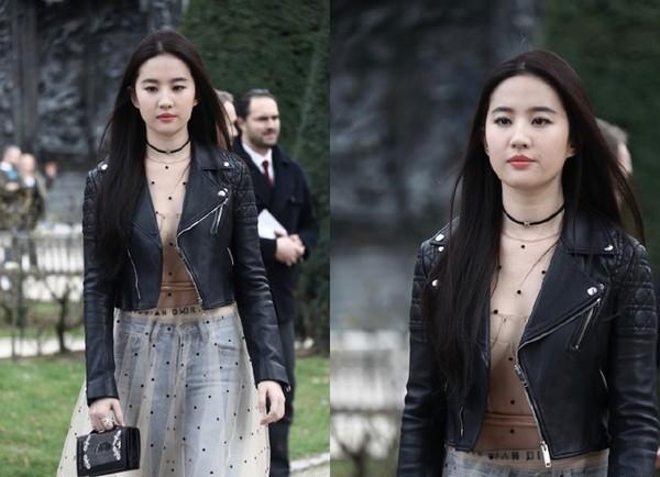 神仙姐姐刘亦菲细纹+圆嘟肉脸照片曝光