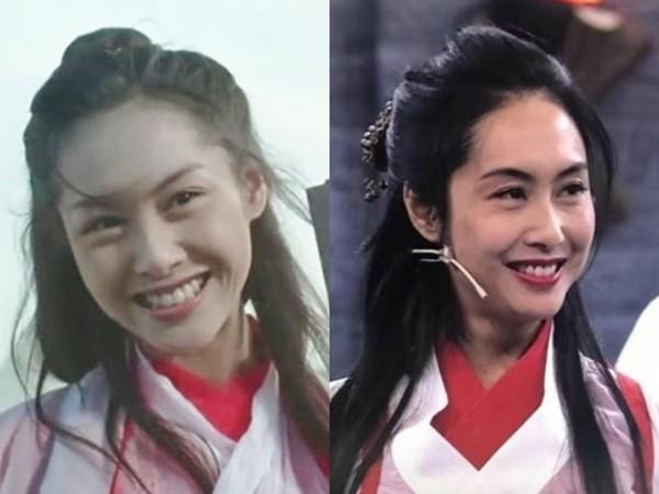 朱茵再扮紫霞仙子 红白仙服+回眸灿笑