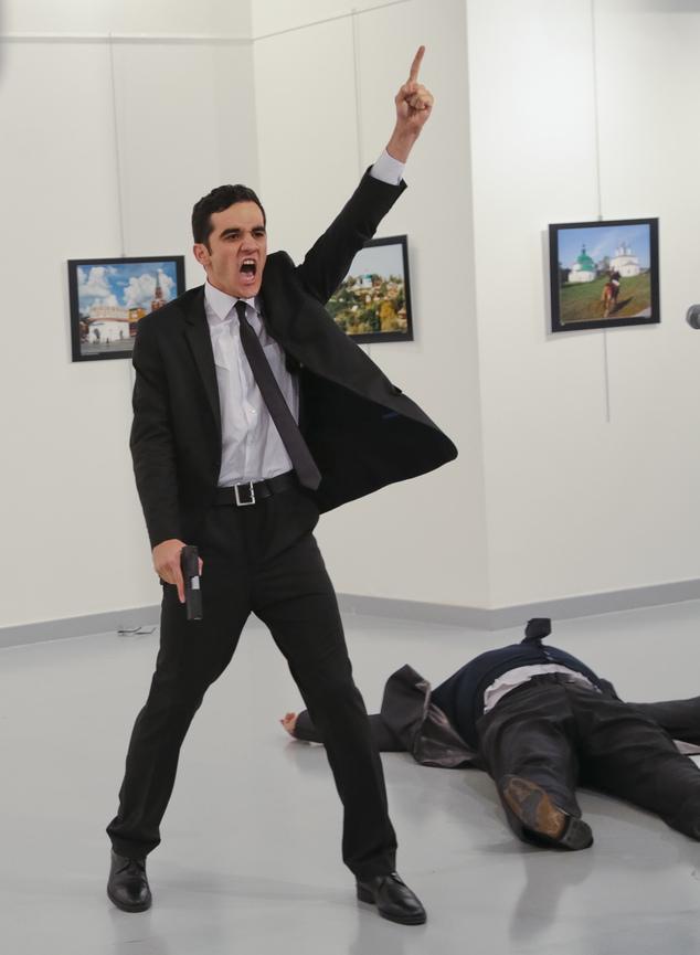 """俄大使遇刺后 土逮捕1名俄罗斯""""老鸨"""""""