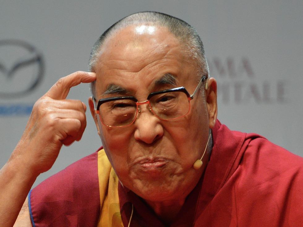 达赖喇嘛亮相HBO娱乐秀 中方:他善表演