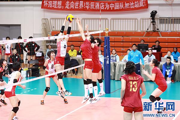 中国女排惨败给日本 运动员教练被骂废物