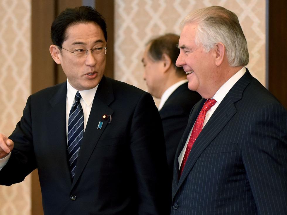 美国务卿:日本管控钓鱼岛 反对单方面改变