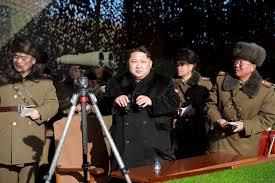 金三疯了  北韩正在演习核战?