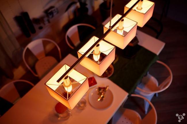 挺浪漫 Hue灯带来不一样的烛光效果