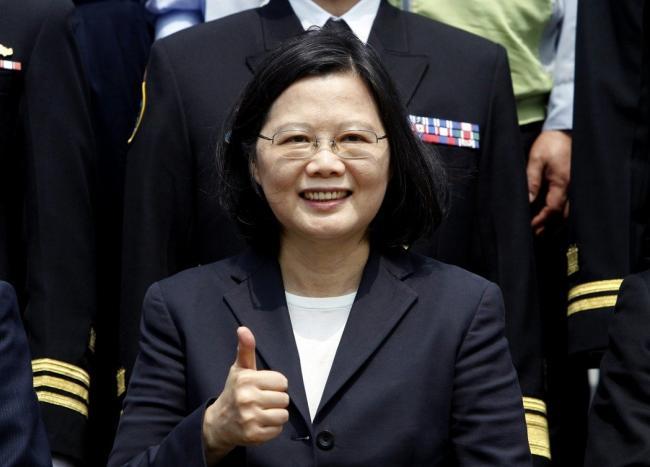 <财星>全球50领袖 蔡英文因川普列第8