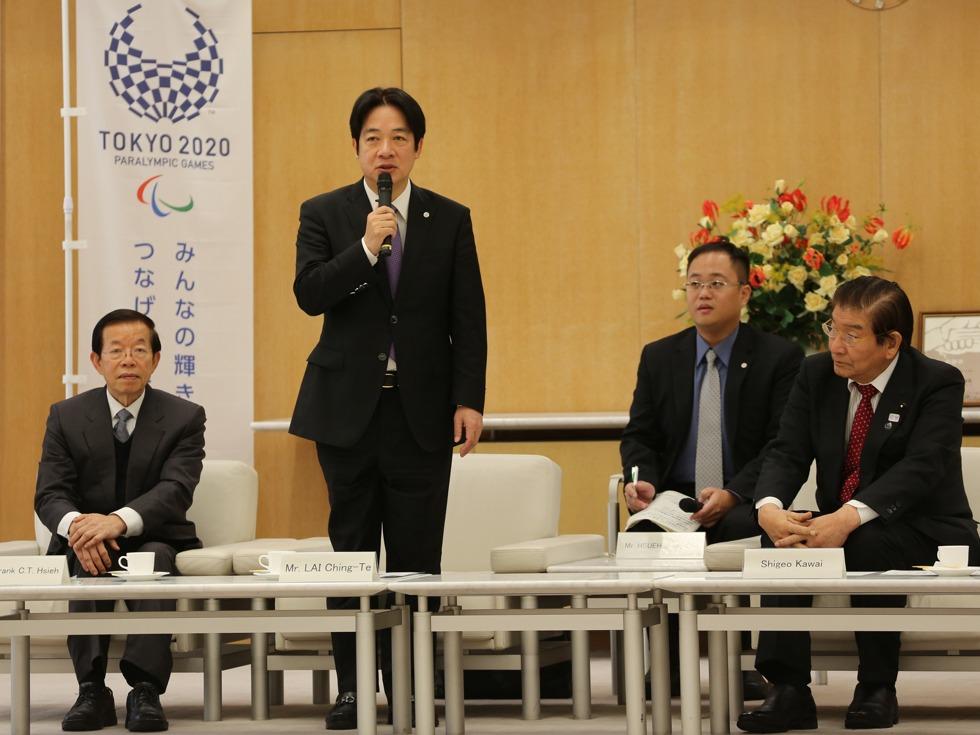 再探中国底线 日本高官正式访问台湾