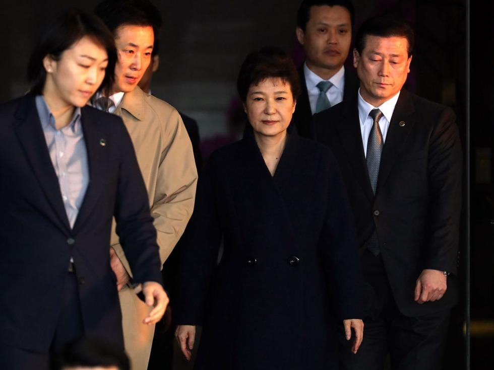 迅速提请批捕朴槿惠 韩国检方的苦衷