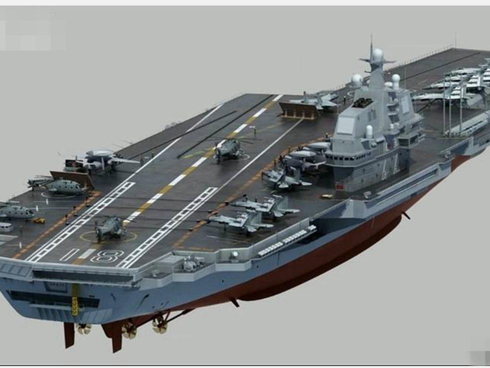 中国国产航母或四月下水 战斗力超英法俄