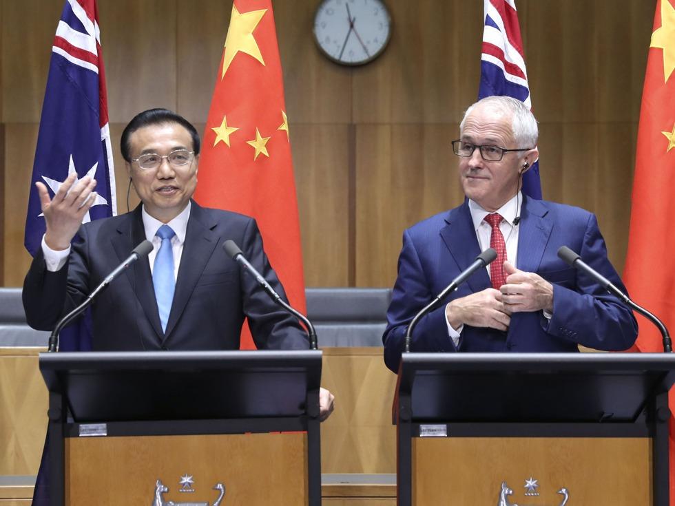 李克强结束访问后中澳闹尴尬 北京回应