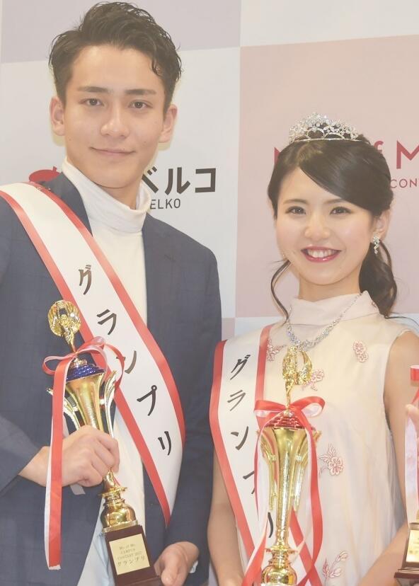 日本2017最美、最帅大学生