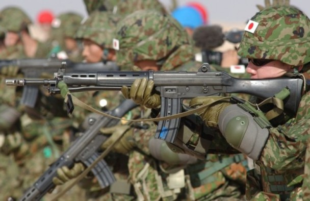 """日版""""海军陆战队""""雏形成立 主力夺岛战"""
