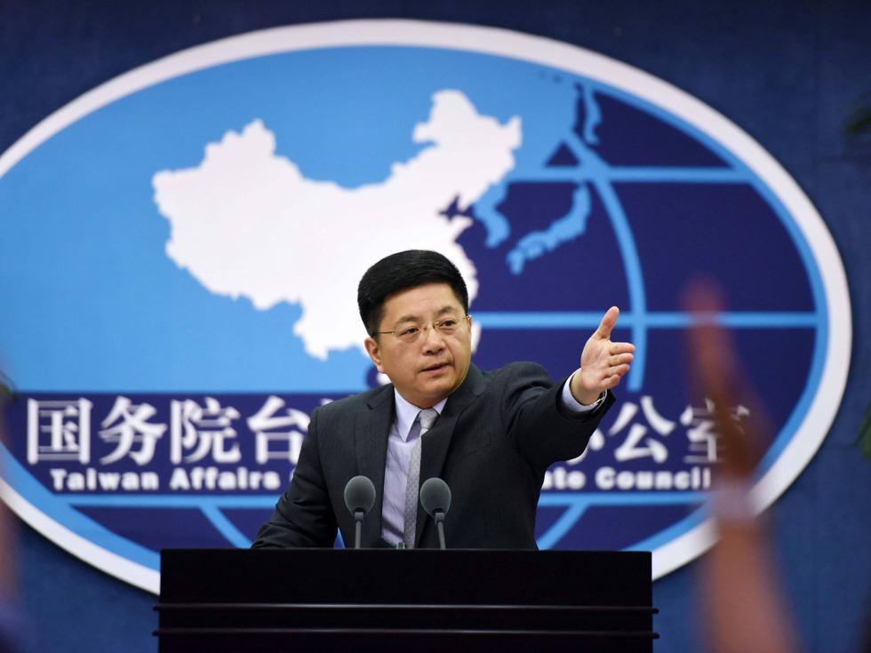 中国国台办:两岸受损害 台独蠢蠢欲动