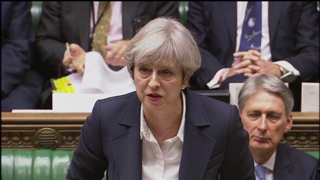 英国正式递交脱欧信函 梅姨演说呼吁团结