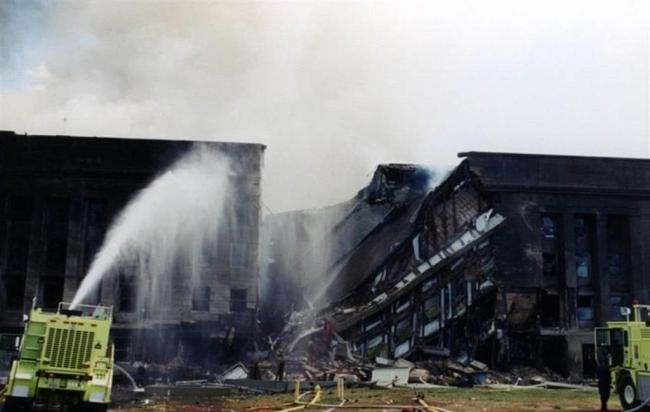 尘封16年 FBI公布911五角大厦遇袭照片