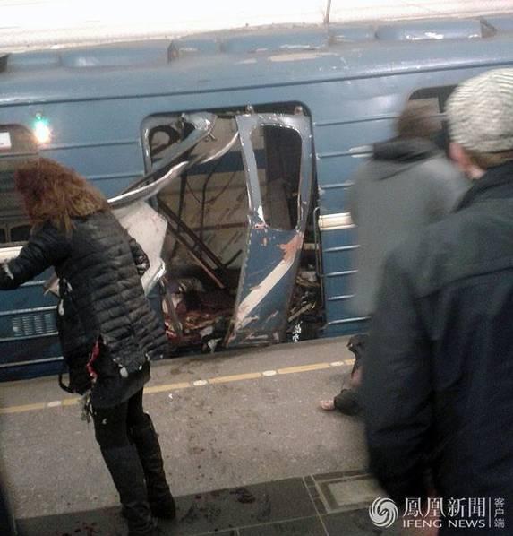 俄地铁爆炸已致60余死伤 已定性为恐袭