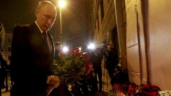俄地铁袭击案:1嫌犯身份确认 2人被通缉