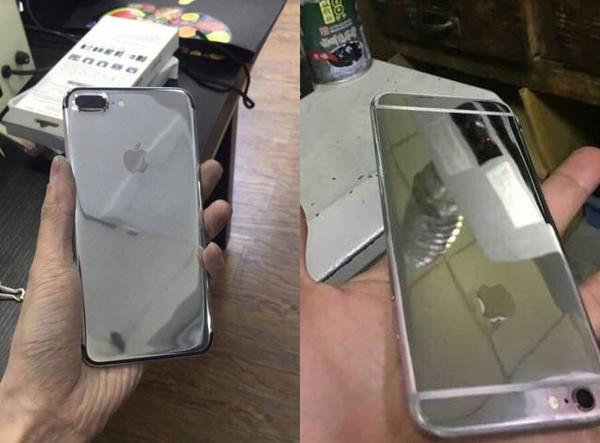 亮黑色算什么 他自制亮银色iPhone7