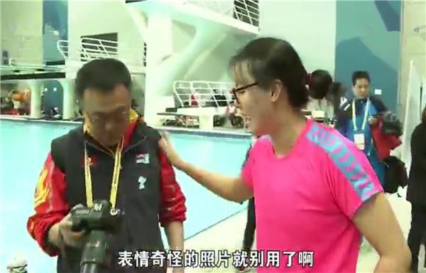 傅园慧又拿冠军了   给记者提出一个要求