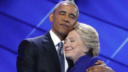 希拉里败选细节:奥巴马两次致电大不同