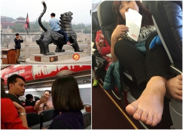 丑化华人?中国游客的招牌被谁玷污了