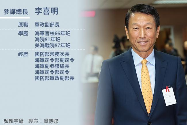 蔡英文核定  台湾军方人事大地震