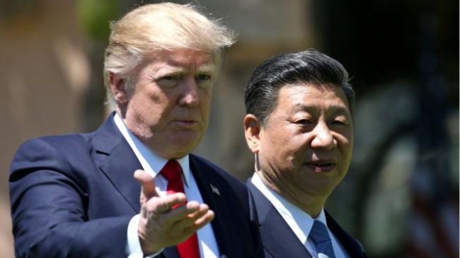 """习近平自称与川普进行了""""很好的通话"""""""