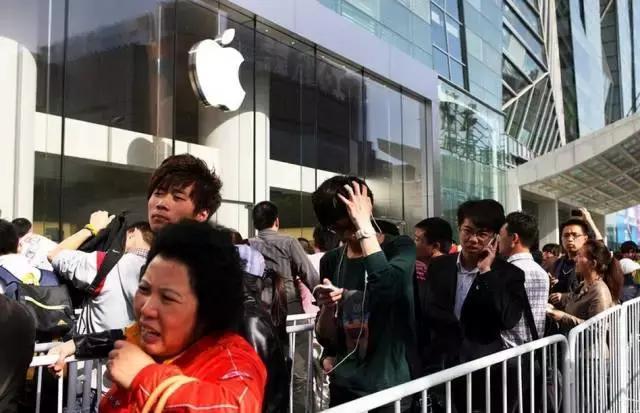 全球爱苹果    唯独中国不爱了