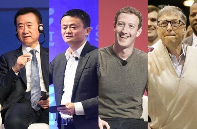 泰晤士全球富豪榜 马云王健林上榜前20