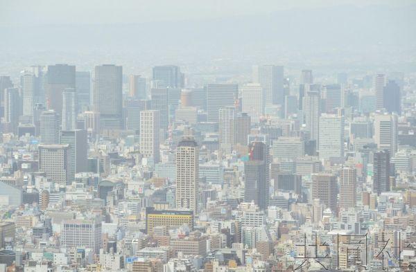中国吹来?日本遭遇1967年来首次沙尘暴