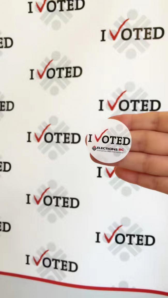 直击BC省选日投票点,华人投票热情高涨