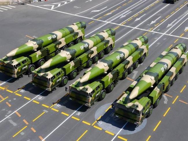 叫板韩国新总统  中国渤海试射新型导弹