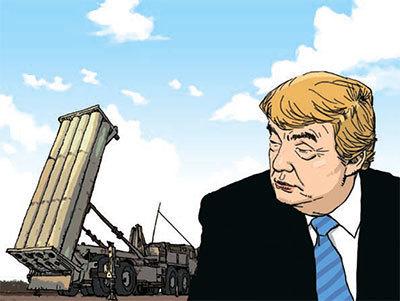 美国总统川普关于萨德的错误认识