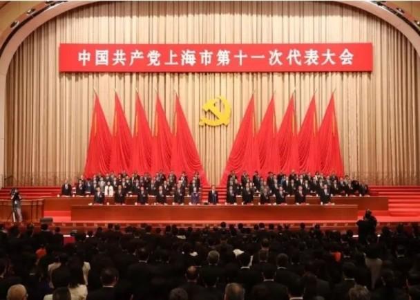 上海选出新领导班子 韩正连任市委书记