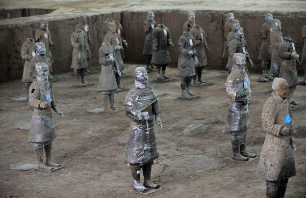 秦始皇陵成谜  兵马俑是征服世界的军队
