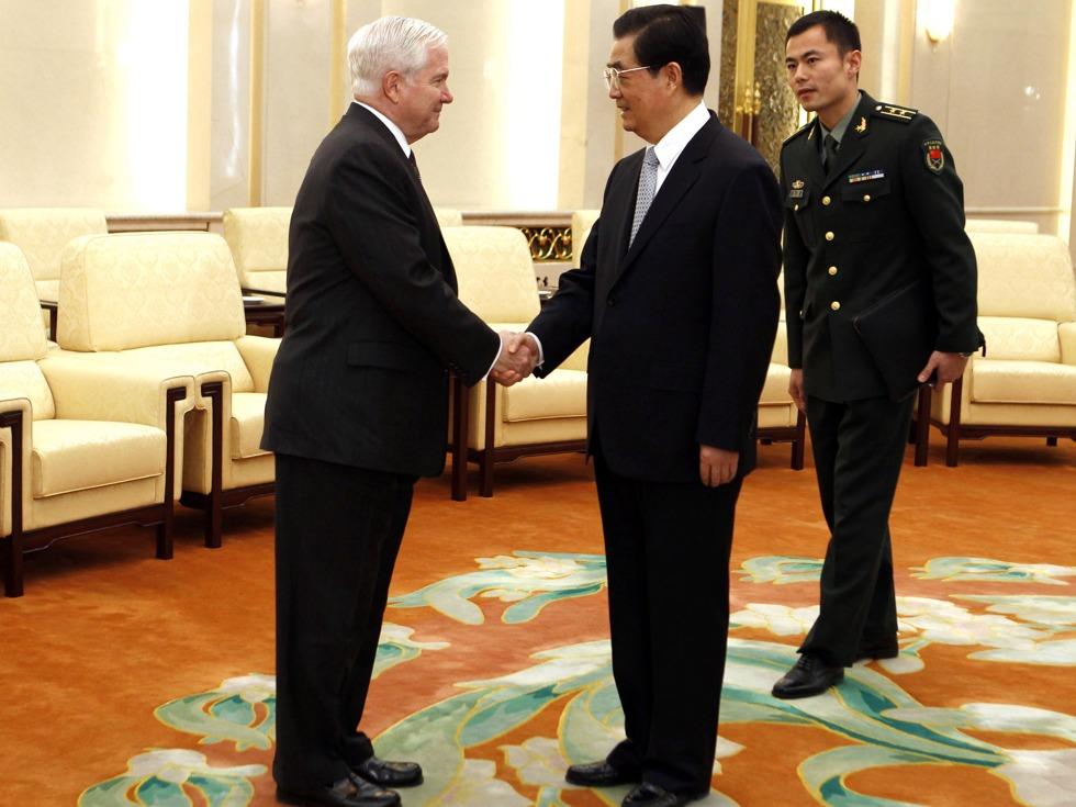 美前防长称曾警告胡锦涛朝鲜问题 但没效