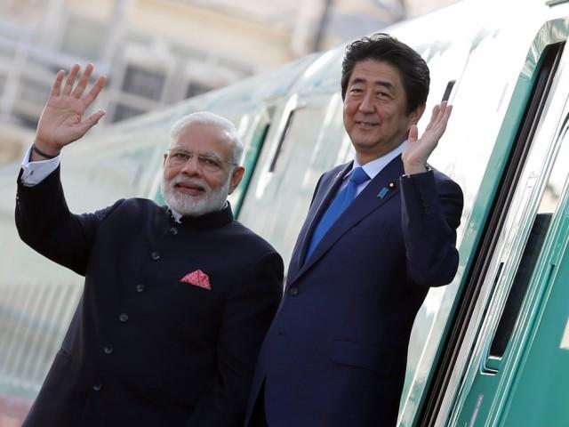 """叫板中国   日本印度也推出""""一带一路"""""""