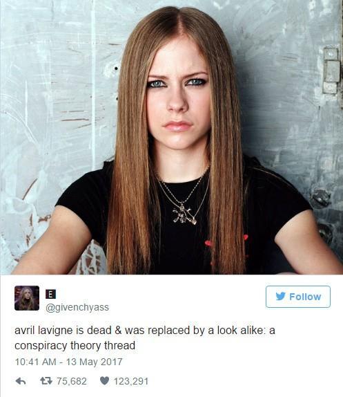 艾薇儿早已去世现在是替身?原来明星被死亡不分国籍