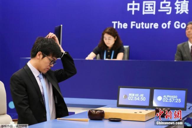 中国派世界第一高手应战AlphaGo 又输了