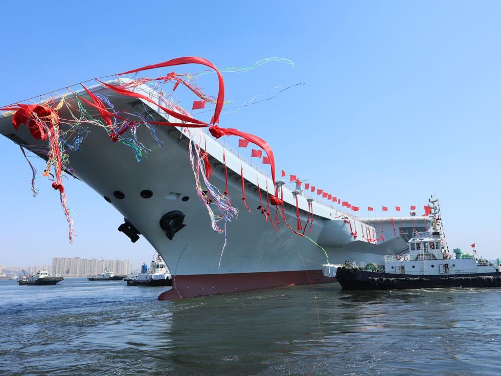 打败美帝?中国航母船员被指幼儿园水平