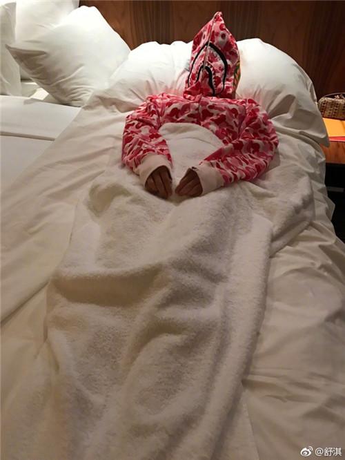 舒淇半夜蒙着衣服睡觉 背后原因让人心疼