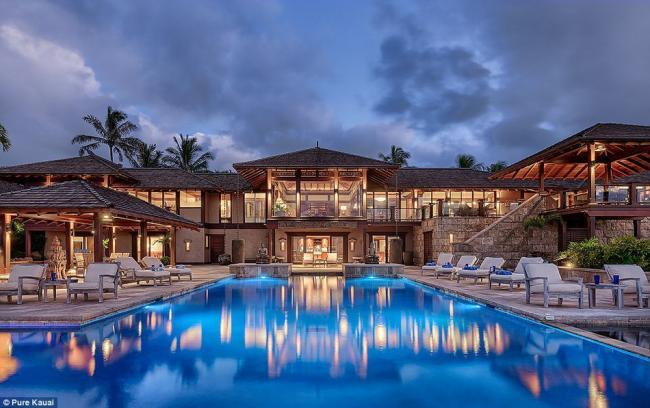 奢华豪宅!售价4亿8千万的夏威夷宫殿